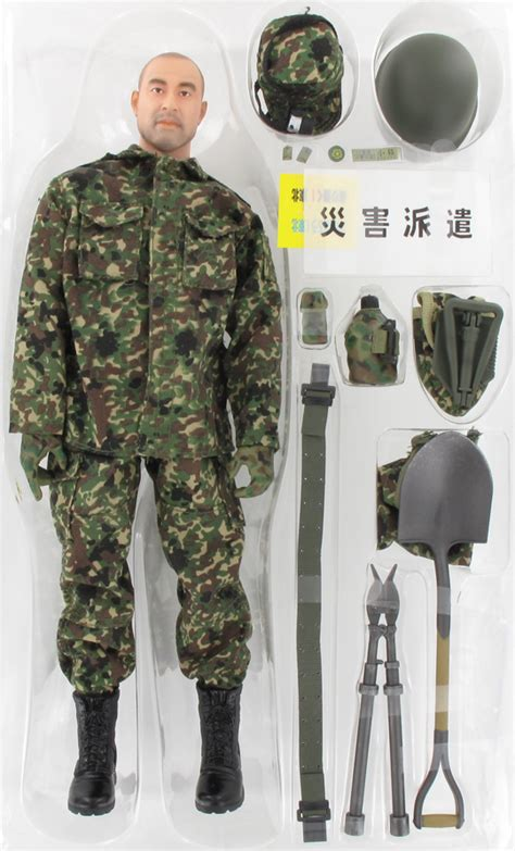 figurine 1 6 kentaro kogure jgsdf infantry disaster relief