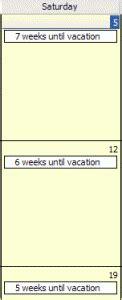 create countdown calendar in outlook create countdown calendar in microsoft outlook outlook tips