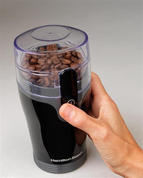 Electric Coffee Grinder hamilton 80335r fresh grind coffee