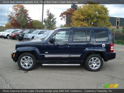 2012 Jeep Liberty Latitude True Blue Pearl 2012 Jeep Liberty Latitude 4x4