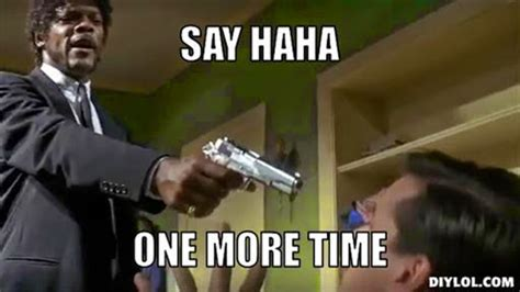 Samuel L Jackson Meme Generator - pin pulp fiction memes 89 results on pinterest