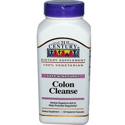 21st century health care colon cleanse 120 veggie caps