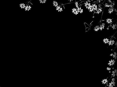 my laptop wallpaper is black floral wallpaper with black background 10 desktop