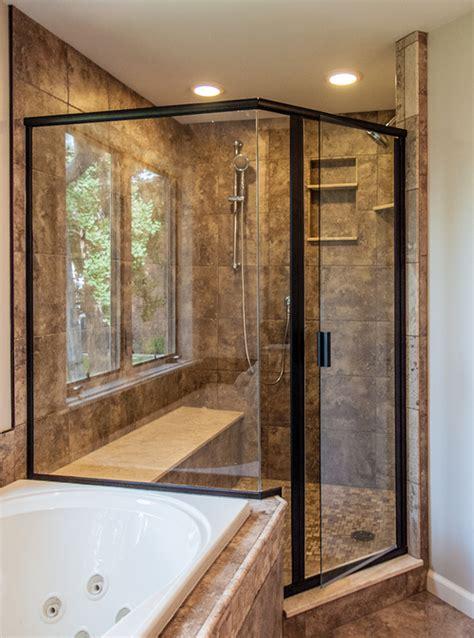 Shower Doors Cincinnati Transform Your Bathroom With Framed Shower Doors Enclosures S All Glass Woodlawn