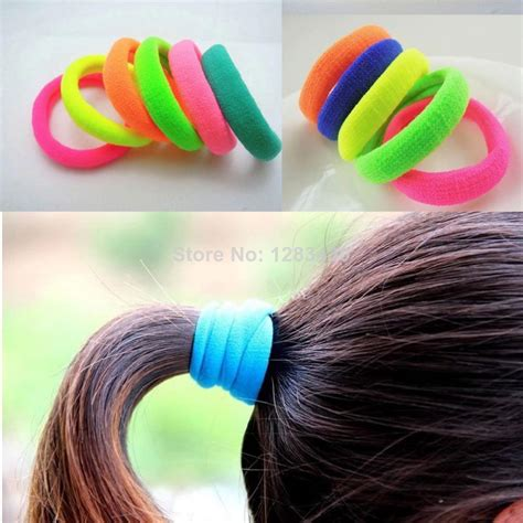 natural hairstyle w jewels rubber band for holidays girls womens elastic hair rubber bands fashion sports