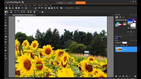 tutorial corel draw photo paint x7 using magic fill in paintshop pro x7 youtube