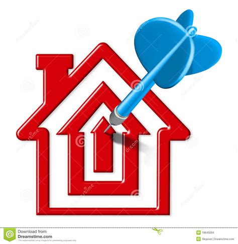 home sales target stock images image 19645594