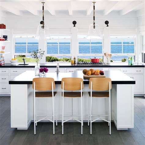 beach kitchen design 5 star beach house kitchens coastal living