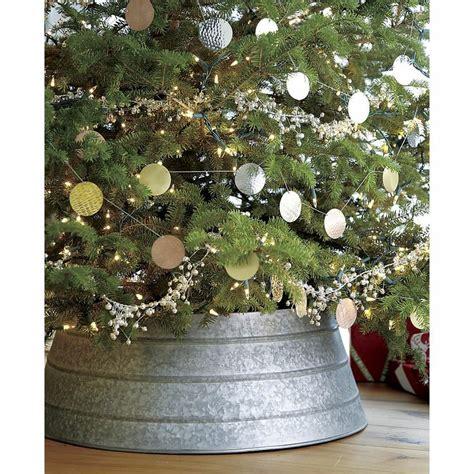 galvanized tree collar