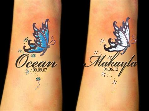 butterfly name tattoos 17 best ideas about butterfly tattoos on wrist on