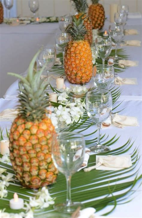 Pineapple Decorations by 5 Ways To Use Pineapples The Connection Your