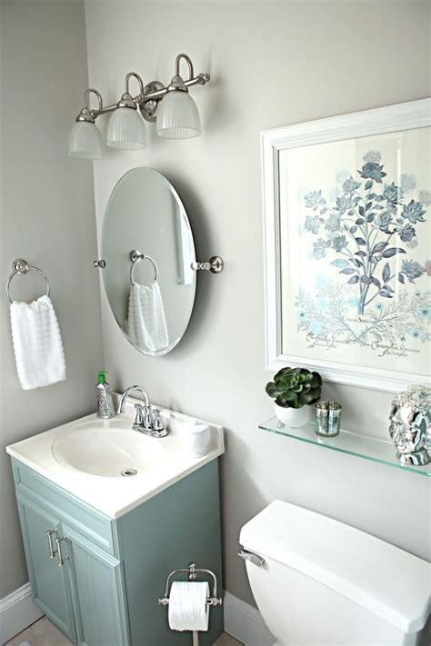 17 best ideas about oval bathroom mirror on half bath remodel powder rooms and