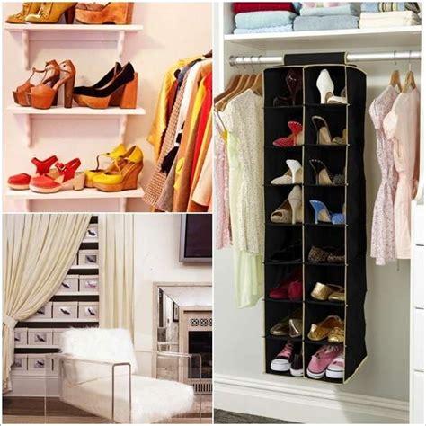 5 clever shoe closet ideas for shoe