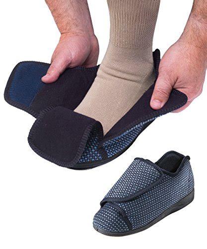 mens slippers for swollen mens wide slippers swollen adjustable