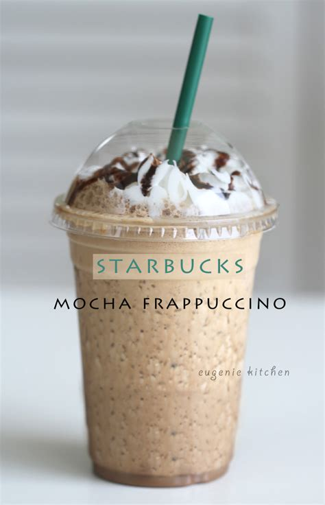 iced mocha frappuccino an easy house recipe to make at
