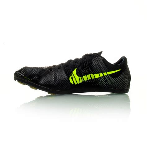 nike zoom victory 2 mens track running spikes black