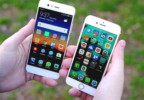что выбрать huawei p10 или iphone 7 сравниваем смартфоны