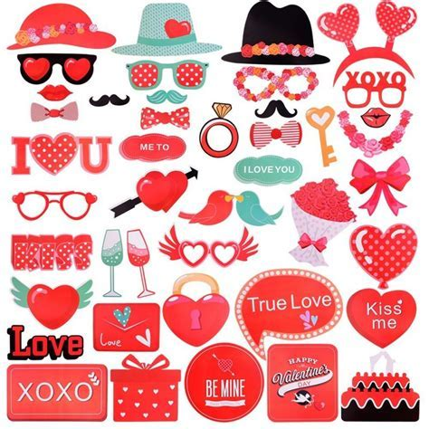 Amazon: Threemart Valentines Photo Booth Props Only $9.79!