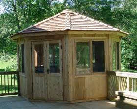 cedarshed 10 ft hexagon whistler all season gazebo