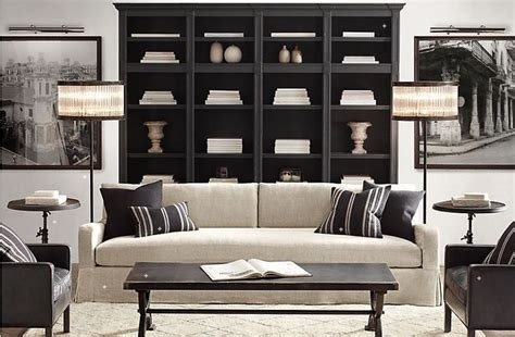 restoration hardware living rooms restoration hardware living room living room pinterest