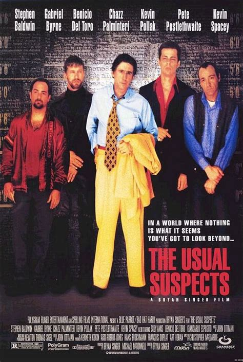 The Usual Suspects 1995 Film Commentarama Film Friday The Usual Suspects 1995