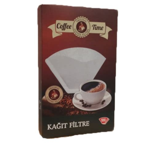 Paket Coffee coffee time 1x4 kahve filtre ka茵莖d莖 100 l 252 paket fiyat莖