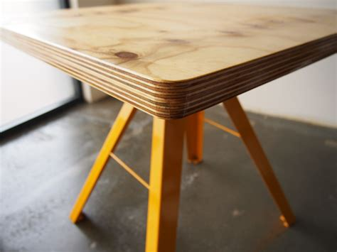 Plywood Table by Plywood Cafe Table Ii Gerry Kho Products