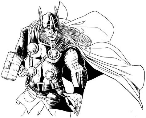 marvel coloring pages thor 72 thor coloring pages printable thor coloring