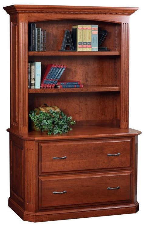 Lateral File Cabinet With Shelves Buckingham Lateral Filing Cabinet With Optional Bookshelf From