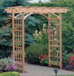 How To Build An Arbor Trellis by A Trellis An Arbor And A Pergola Magpie Lane Garden