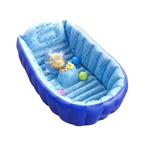 2015 newest kids and children inflatable shower bath tub