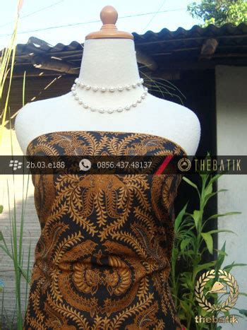 Batik Tulis Motif Babon Angkrem jual kain batik cap motif babon angrem thebatik co id
