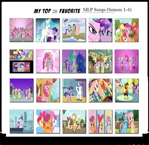 7 Of My Favorite Entertainment Websites by Top 20 Favorite Mlp Songs By Mlp Vs Capcom On Deviantart