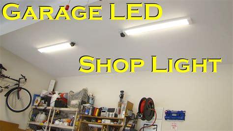 Led Light Design: Remarkable LED Garage Light Fixtures