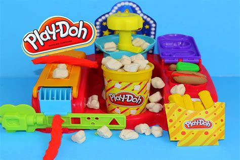 play doh play doh poppin snacks popcorn play doh treats popsicle fries