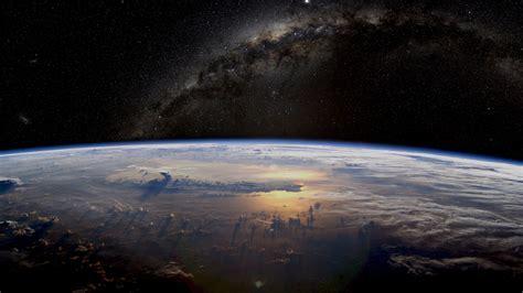 wallpaper milky   cold planet  desktop background