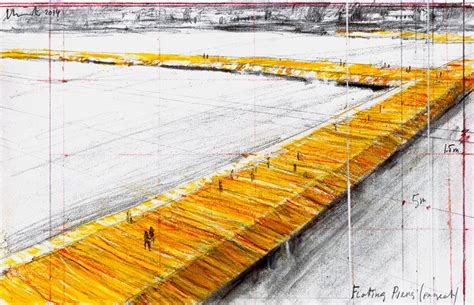 floating piers quot the floating piers quot christo on lake iseo abitare