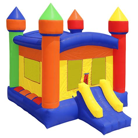commercial grade bounce house commercial grade 100 pvc bounce house castle inflatable bouncy jump w blower ebay