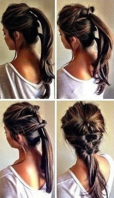 easy hairstyles for waitress s tutte le pettinature che puoi farti in meno di cinque minuti