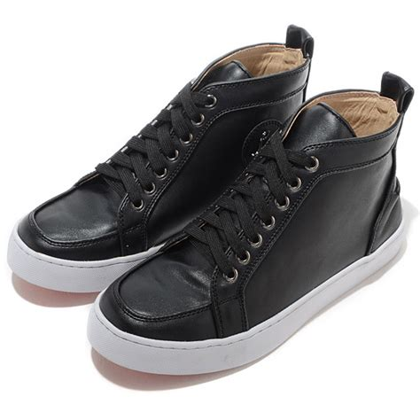 mens leather high top sneakers 2015 bottom sneakers for flat mens high top