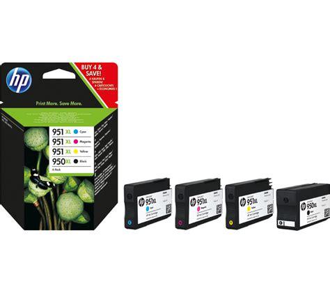 Barang Istimewa Catridge Hp 951 Xl Cyan hp 950xl 951 xl cyan magenta yellow black ink cartridges multipack deals pc world