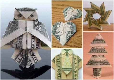 Origami Birthday Gift Ideas - 21 origami money ideas gifts in the form of