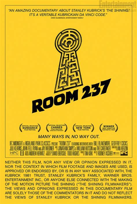 room 237 documentary great new poster for the shining documentary room 237 geektyrant