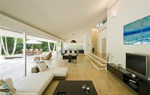 view interior of homes stunning house with pool and view