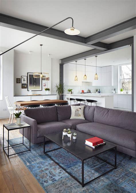 renovated modern apartment    century mansion block