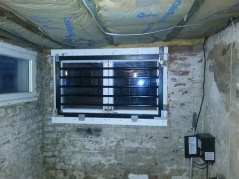 basement window ventilation fans basement ventilation