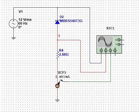 diode circuit problem diode voltage problem discussion forums national instruments