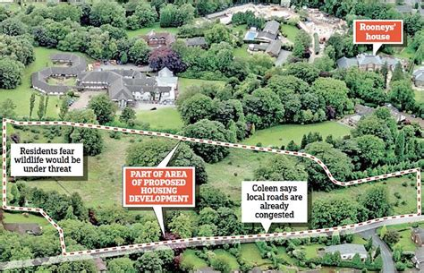 Farm Office Floor Plans by Wayne And Coleen Rooney Object To Plans For Affordable