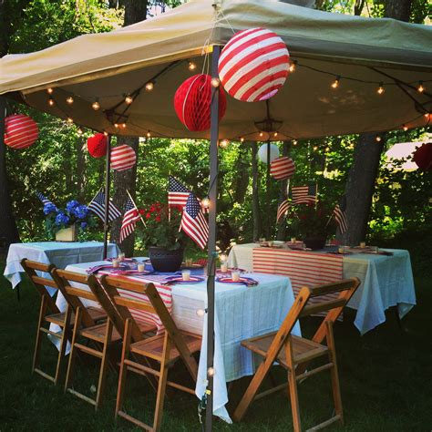 backyard party happy independence day backyard party and recipe