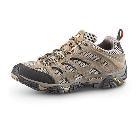 mens hiking sneakers s merrell moab ventilator low hiking shoes walnut